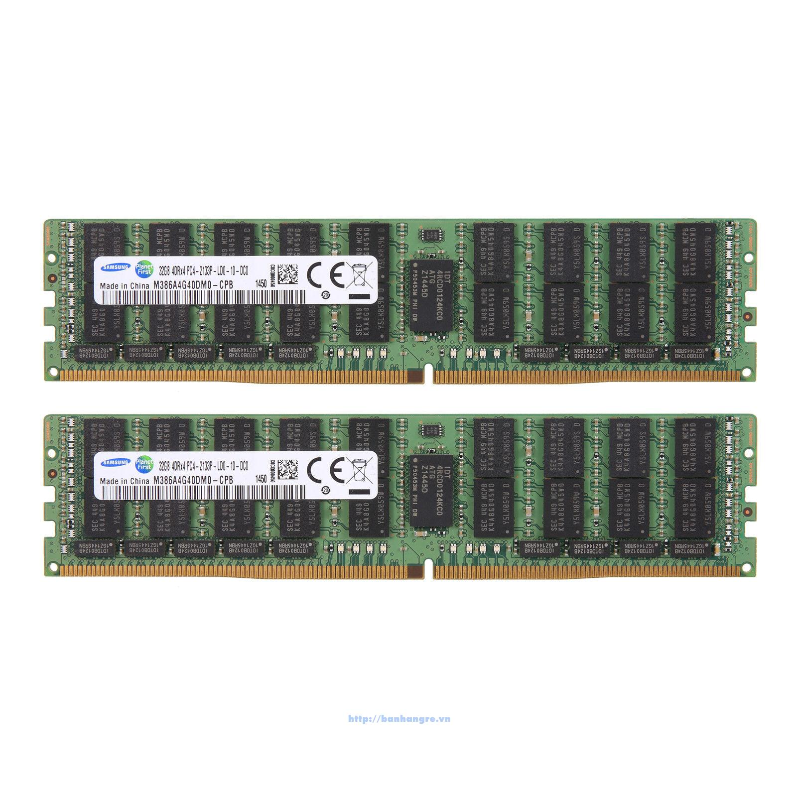 RAM PC4-2133P Registered ECC 32GB