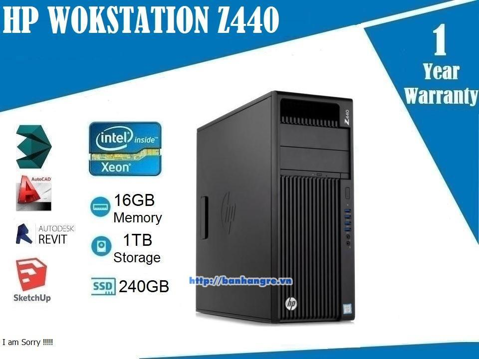 HP WOKSTATION Z440